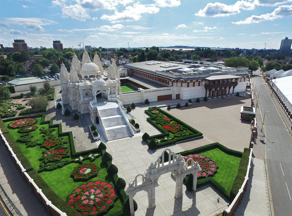 INVITATION: London Mandir 25th Anniversary Celebrations, UK & Europe
