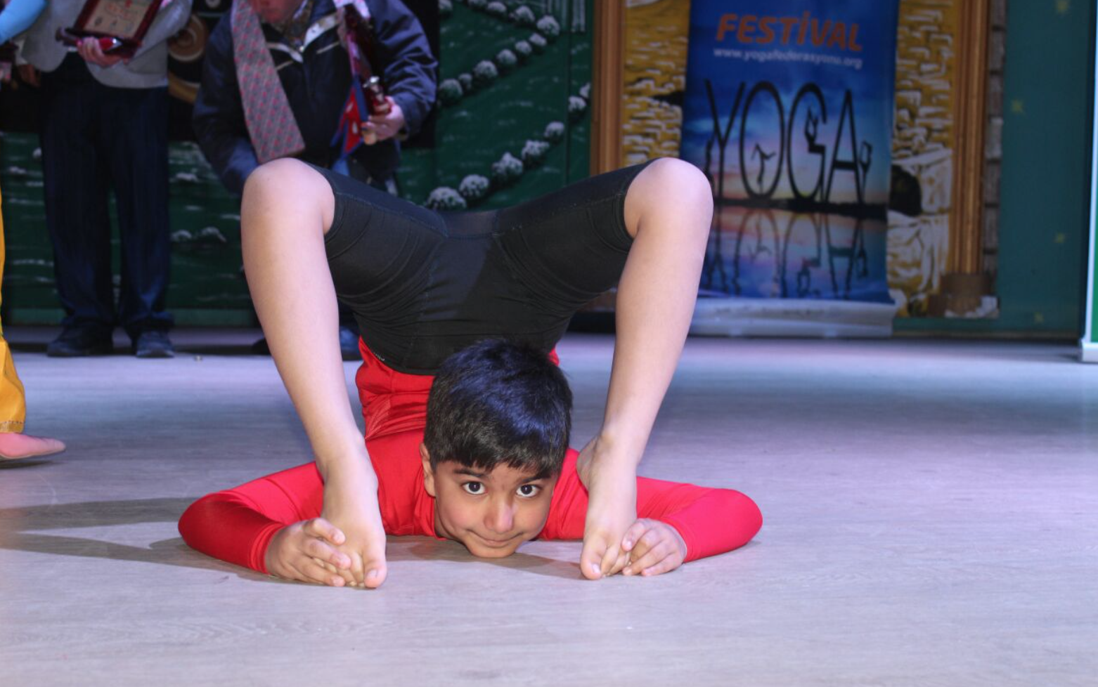 British Indian boy wins global Yoga contest