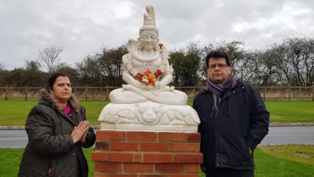 First Hindu Shrine in a British Crematorium