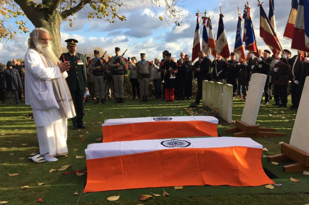Indian Soldiers laid to rest