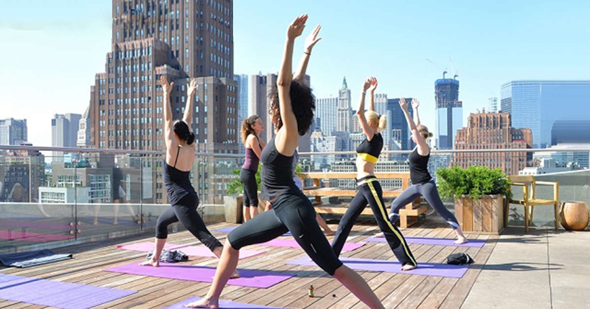 Yoga has arrived - It's official