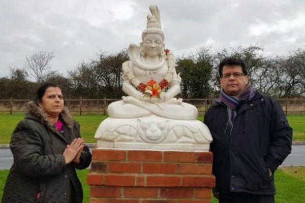 First Hindu Shrine in British Crematorium