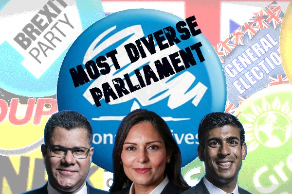 Most Diverse UK Parliament