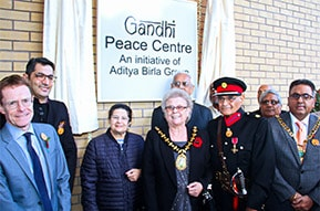 Gandhi Peace Centre Inauguration