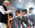 Modi Rocks Wembley